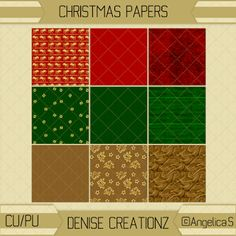 Denise Creationz: Christmas Papers