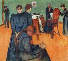 Death in the Sickroom - Edvard Munch 1895