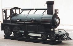"BBQ Grills & Smokers - JOE'S BARBEQUE SMOKER® TRAILER - 30"" Championship Train"
