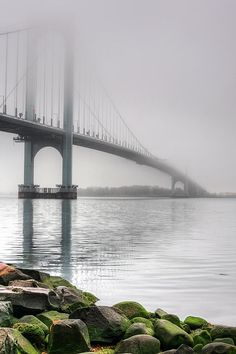 Fog On The Long Island Sound. New York City.   NYC. JC Findley