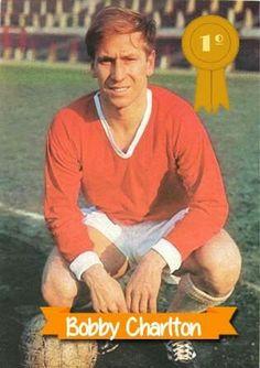Bobby Charlton of Man Utd in 1961.