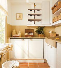 un lavadero en l bien aprovechado elmueblecom otras estancias
