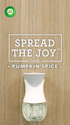 It's that time of year for all things Pumpkin Spice. Turn up the fall-ume with @AirWick Scented Oil Warmer. Scent moves us.