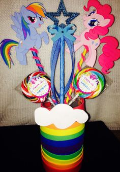 My Little Pony Centerpiece by AMiTiELSCollections on Etsy, $15.00