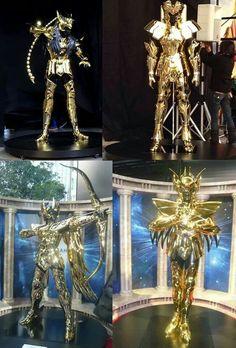 Real armors.