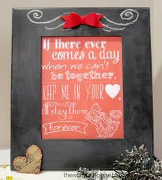 The Scrap Shoppe: Winnie the Pooh Chalkboard Love Quote