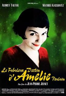 a 2001 romantic comedy film directed by Jean-Pierre Jeunet. Written by Jeunet with Guillaume Laurant, the film is a whimsical depiction of contemporary Parisian life, set in Montmartre. It tells the story of a shy waitress, played by Audrey Tautou, who decides to change the lives of those around her for the better, while struggling with her own isolation