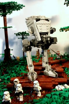LEGO Battle of Endor - by Markus1984