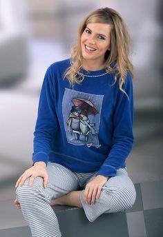 Pijama invierno mujer Massana modelo PERIQUITOS. http://www.perfumeriaelajuar.com/homewear/pijama-mujer-invierno-/30/