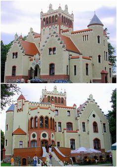 Castle von Treskov, Strykowo, Wielkopolskie province, Poland.