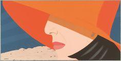 Orange Hat, from the portfolio Alex and Ada: 1960s to 1980s, 1990, Alex Katz (American, born in 1927) Screenprint. Graphische Sammlung Albertina, Vienna. Photograph © Albertina, Vienna; Peter Ertl. Art © 2011 Alex Katz/Licensed by VAGA, New York, NY. Courtesy, Museum of Fine Arts, Boston