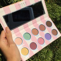 Cream on the inside Clean on the outside  @doseofcolors new Eyes Cream palette  I would like to eat it