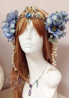 *Art Nouveau* Headdress <3