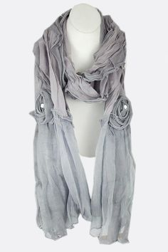 London Applique Scarf | Awesome Selection of Chic Fashion Jewelry |