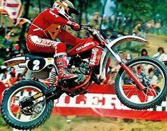 Gaston Rahier Gilera 125 1980