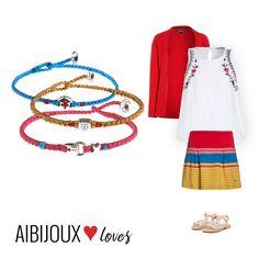 L'outifit per le nostre bambine con i simboli di #BabyloniaGioielli #AIBIJOUXloves #fashionjewelry #gioiellidautore