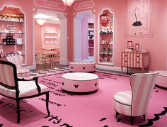 The Plaza Hotel in NYC (Pink Eloise room)