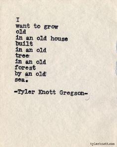 Typewriter Series #489by Tyler Knott Gregson
