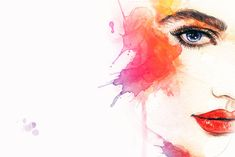 Similar Images, Stock Photos & Vectors of Fashion Illustration Abstract Woman Portrait Watercolor - 533391673 Art And Illustration, Watercolor Illustration, Illustrations, Fashion Background, Hand Painting Art, Watercolor Painting, Female Portrait, Woman Portrait, Watercolor Portraits