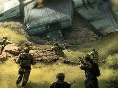 Star Wars Rebel Melishia soldiers