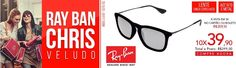 The Ray Ban Chris is part of Hightstreet collection, a unisex model that takes references in the Erika, with square frame and elongated bridge between the lenses.  To buy Ray Ban Chris visit : http://Oculum.com.br