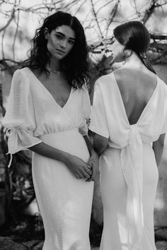 non traditional and modern bridal, fourth collection by designer Courtney Illfield Boho Wedding, Wedding Gowns, Dream Wedding, Vogue Wedding, Casual Wedding, Contemporary Dresses, Midnight Sun, Look Fashion, Korean Fashion