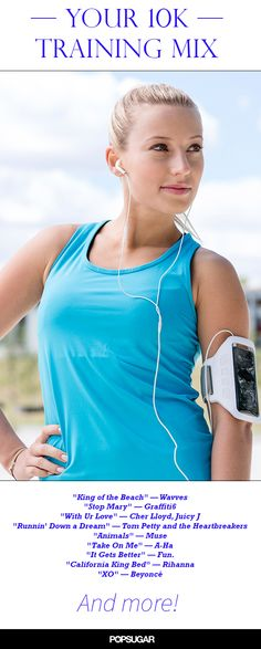 Keep your mileage to the beat of the playlist designed for and 8-minute mile 5K run.