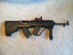 SKS, 7.62X39, with SGWorks  bullpup kit