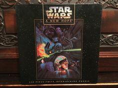 Vintage Star Wars Puzzle by FarrellFandoms on Etsy https://www.etsy.com/listing/266477403/vintage-star-wars-puzzle