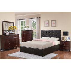 Skvyra 5-piece Espresso Bedroom Set - Overstock Shopping - Big Discounts on Bedroom Sets