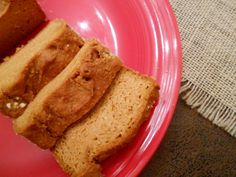 Gluten Free Pumpkin Bread! Gluten Free, Vegan, Body Ecology Diet, Specific Carb Diet SCD Friendly!   glutenfreehappytummy