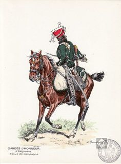 Guardia d'onore del 4 rgt. guardie d'onore francesi