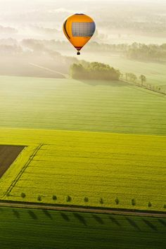 I have never adventured in a hot air ballon. Well now I can try it and see how the experience goes.