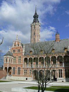 Hof Von Busleyden, former palace now museum in Mechelen, Belgium.  I've been in this museum.