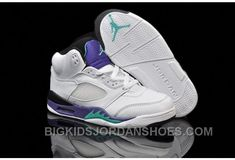 c44d642b924433 Find Discount Nike Air Jordan 5 Kids White Emerald Green Black Shoes online  or in Footlocker. Shop Top Brands and the latest styles Discount Nike Air  Jordan ...
