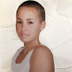 TBT: Amber Rose has shared a photo with her Instagram followers of herself aged 18 when sh...