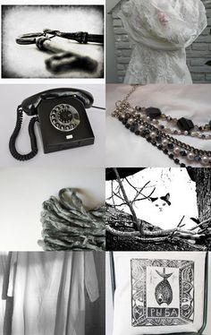 Black and White, Dark and Light by Jen --Pinned with TreasuryPin.com