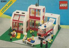 6380-1: Emergency Treatment Center | Brickset: LEGO set guide and database