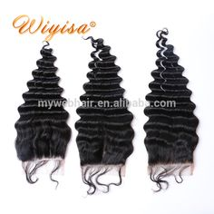 """Top Quality Transparent Natural Hairline Baby Hair 4""""*4""""Frontal Lace Human Hair Weaving Closure With Bundles"""