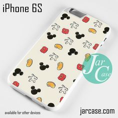 Mickey Mouse's Things Phone case for iPhone 6/6S/6 Plus/6S plus