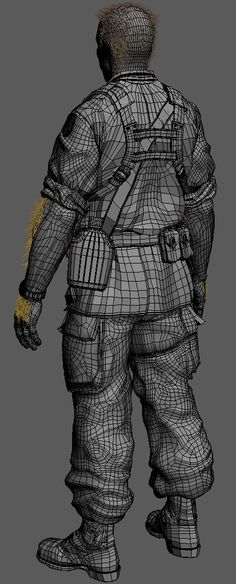 Wolverine - Stryker military wire by Alessando Baldasseroni