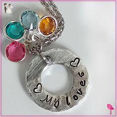 My Loves Customized Bangle Bracelet - Wedding bracelets (*Amazon Partner-Link)