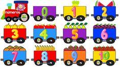El tren de los números. ALGORITMOS ABN. Por unas matemáticas sencillas, naturales y divertidas. Preschool Arts And Crafts, Crafts For Kids, Toddler Activities, Preschool Activities, Train Cartoon, Fun Worksheets For Kids, Fun Halloween Crafts, Classroom Labels, School Signs
