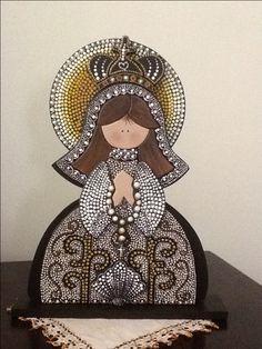 Virgen Nuestra Señora del Valle, elaborada por AV