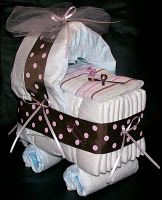 Bassinet center piece.  I want to make on of these!!
