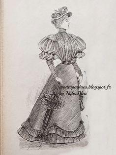 Fashion. France. 1894