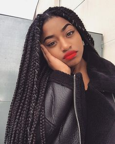 Lovely Set Of Box Braids @sarahikoko - https://blackhairinformation.com/hairstyle-gallery/lovely-set-box-braids-sarahikoko/