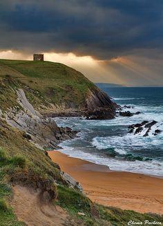 Playa de Tagle, Cantabria, Spain