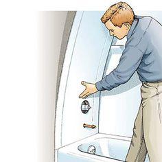 InstallingTub Surround - How to Install a Tub Surround - Popular Mechanics