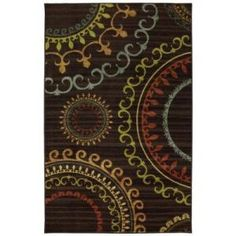 Mohawk Home New Suzani Panel Multi 5 ft. x 8 ft. Area Rug  on  Daily Rug Deals